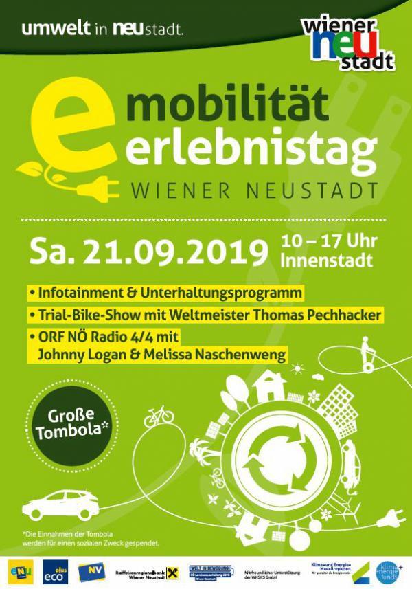 Plakat e-Mobilität Erlebnistag