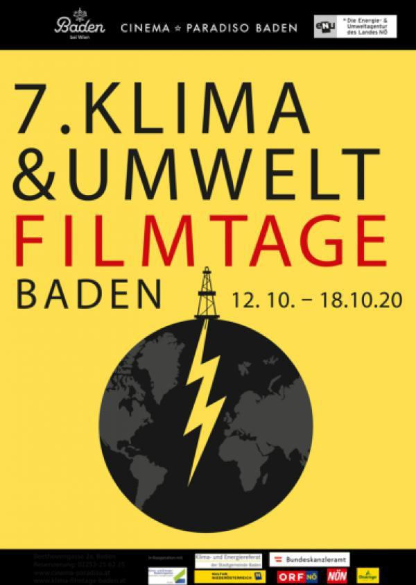 Plakat 7. Klima- & Umweltfilmtage Baden