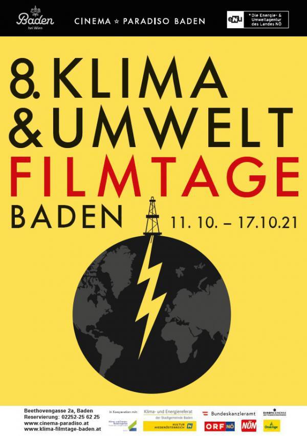 Plakat 8. Klima- & Umweltfilmtage Baden